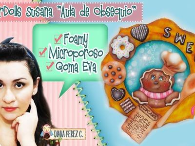 ♥ DEKORARTE EN FOAMY ♥ GINGERDOLLS SUSANA ♥ MICROPOROSO ♥ GOMA EVA