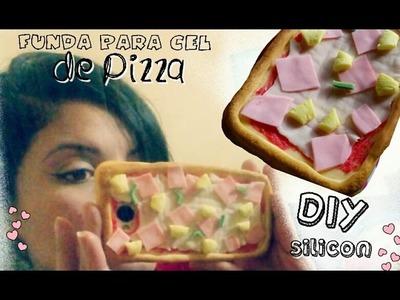 DIY Funda para celular de pizza