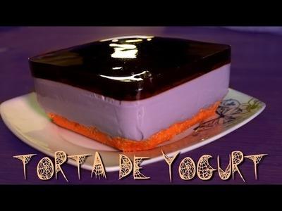 ➪ ¡Torta para Halloween! Sin hornear (Fácil)