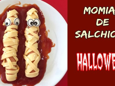 Momias de salchicha * Receta para HALLOWEEN