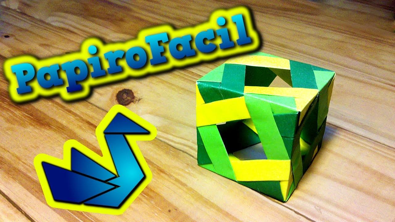 Origami Facil || Como hacer una caja de origami modular