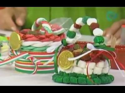 Regala una linda canasta dulce mexicana este 15 de septiembre