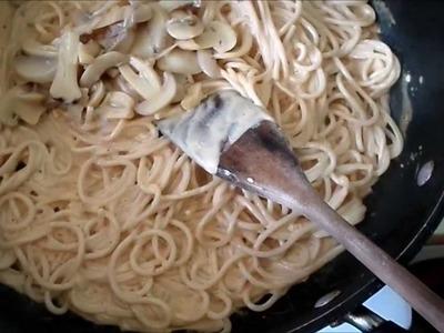 Spaghetti en crema de chipotle - Foodmarury
