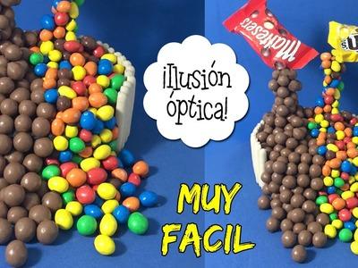 TARTA ANTI-GRAVEDAD * ILUSIÓN OPTICA con Maltesers y M&M's