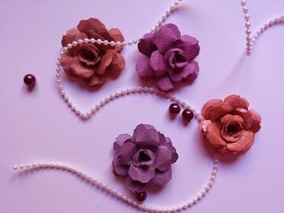 Tutorial: flores de papel III
