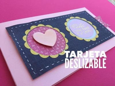 TUTORIAL Tarjeta deslizable.Slider card