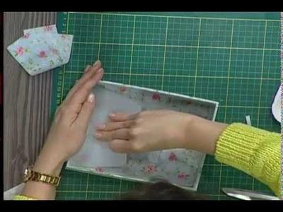 Caja forrada con paño 2da parte