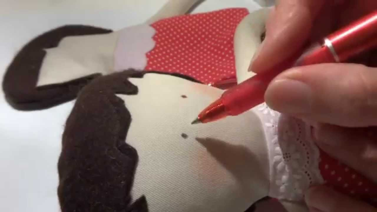 Cloth doll DIY ,como hacer una muñeca de trapo ,