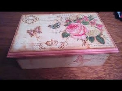 Como Decorar una Caja Estilo Vintage - Hogar Tv por Juan Gonzalo Angel