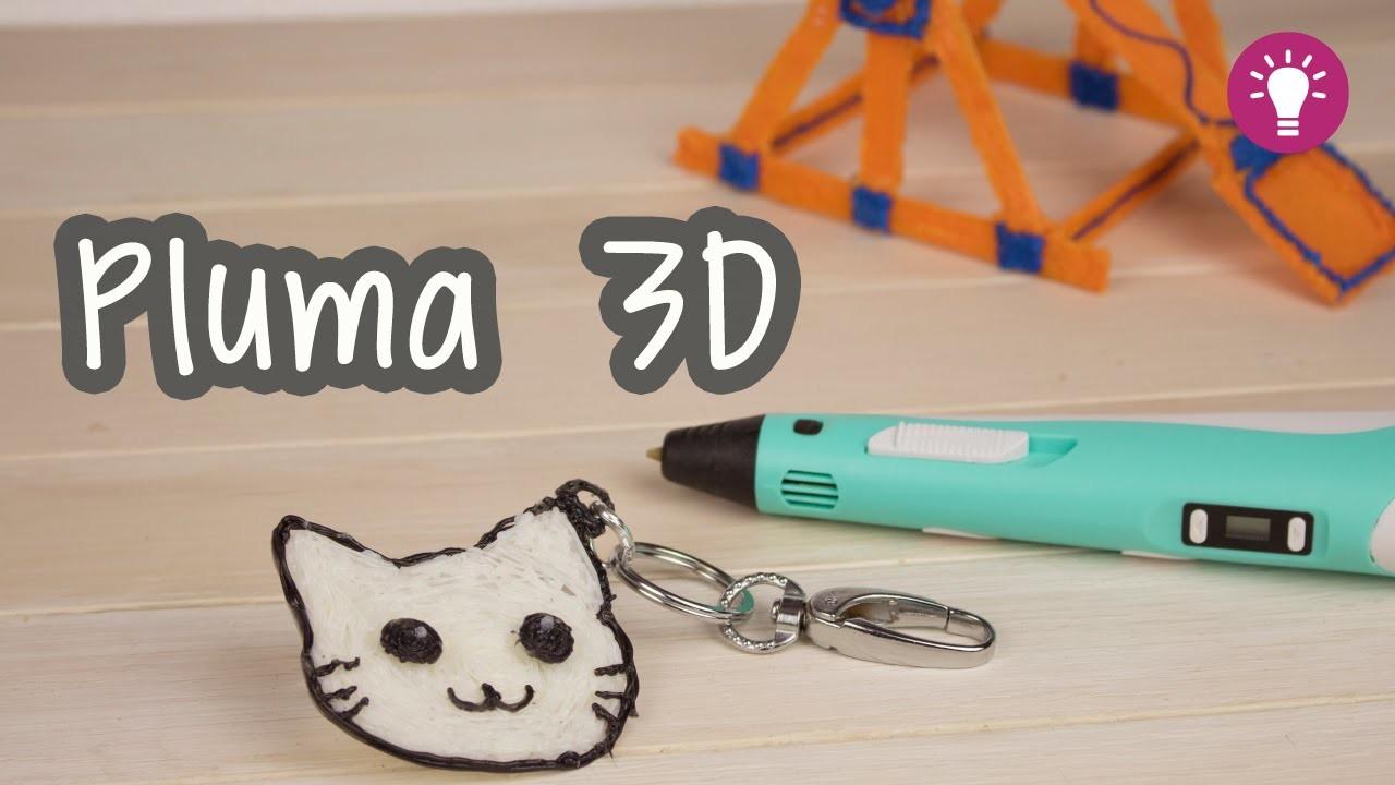 Como dibujar un gato - ¡Pluma Impresora 3D! - 3D Printing Pen   Catwalk