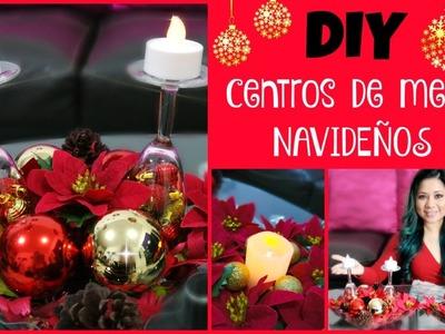 Cómo hacer centro de mesa para navidad (fácil y económico)