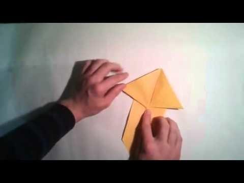Como hacer un conejo de origami  [Origami - Papiroflexia]