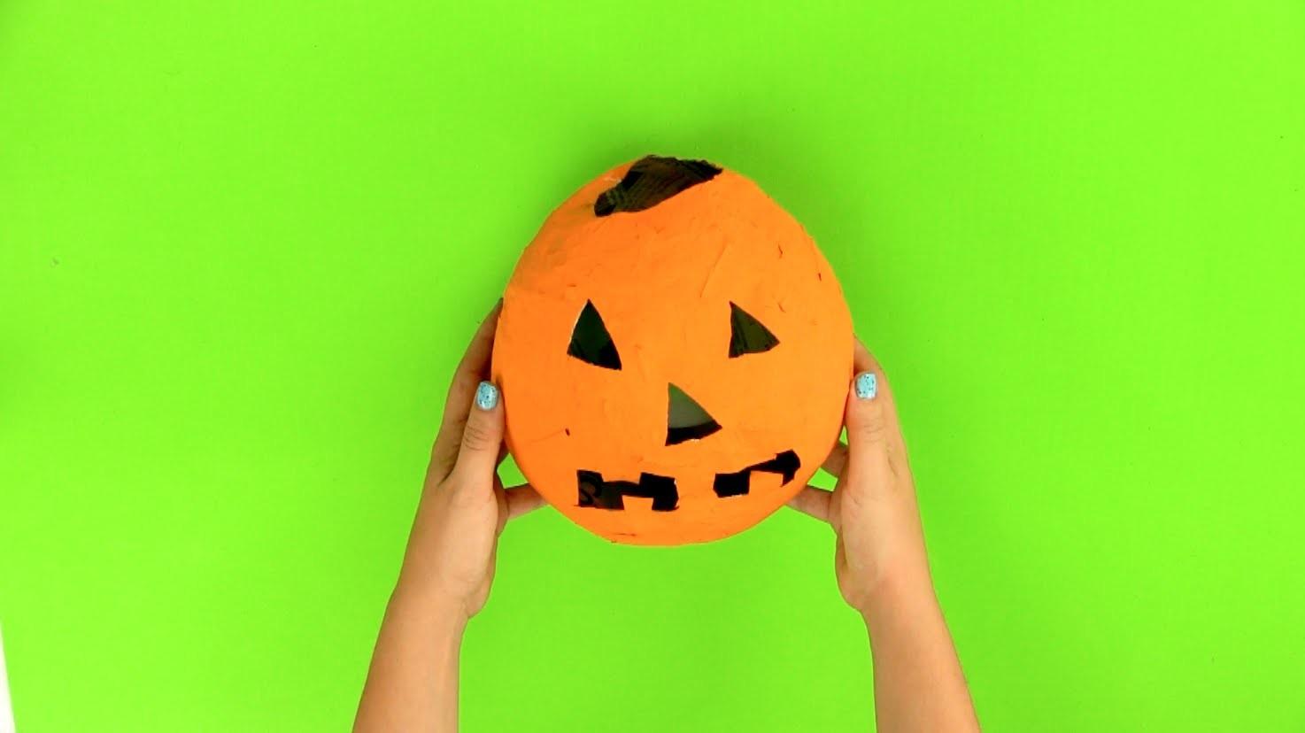 Cómo hacer un portavelas de Halloween paso a paso
