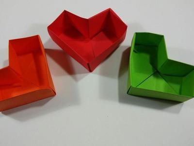 Como hacer una caja corazon ideal para regalar