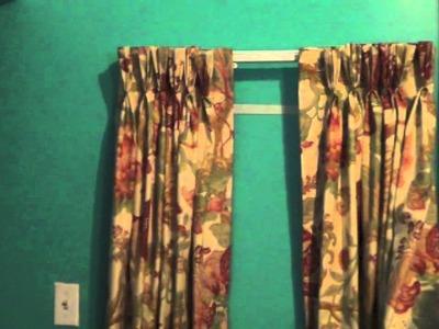Como instalar un cortinero para cortinas plisadas - La receta de la abuelita