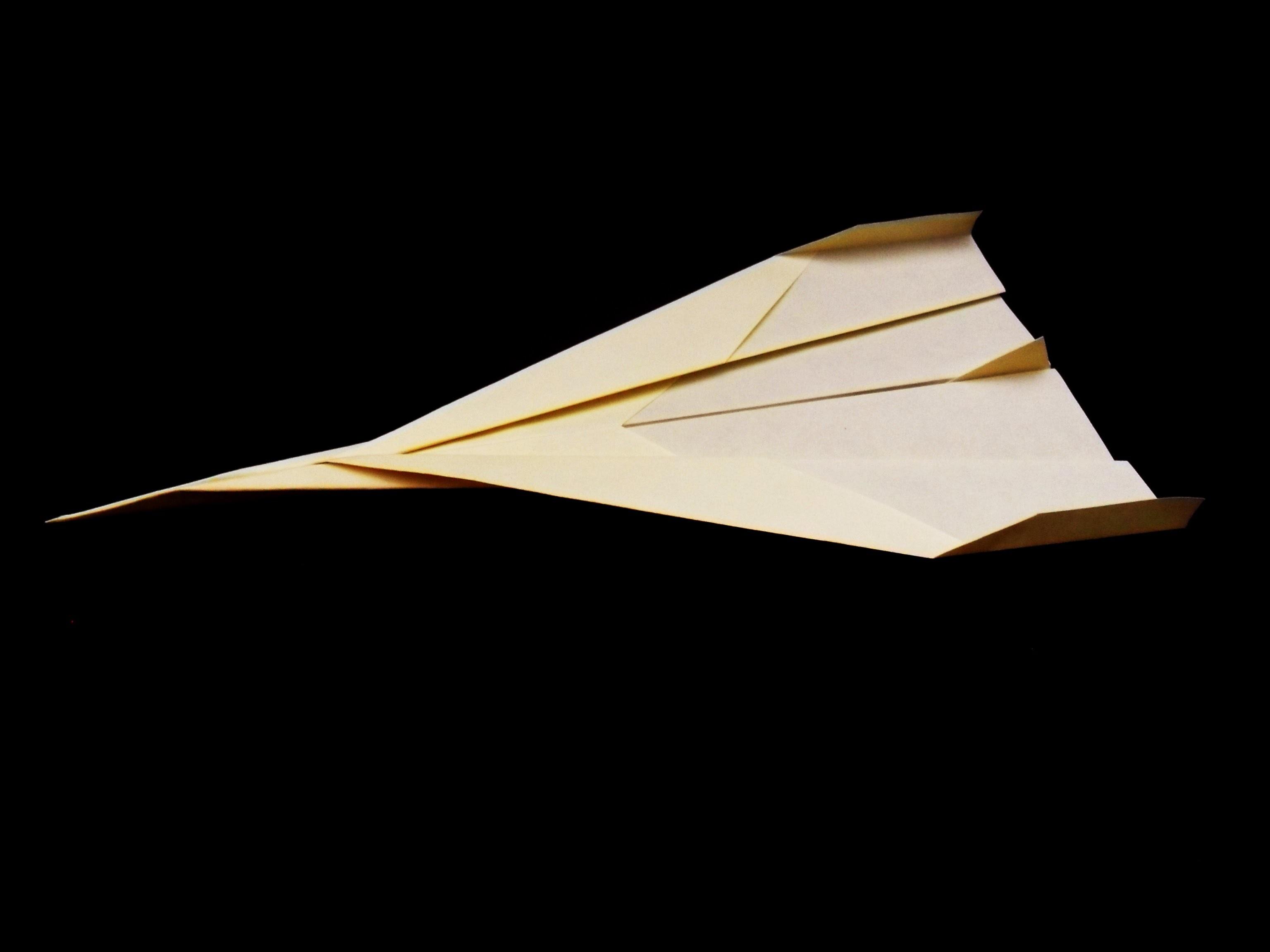 Como se hace un avion de papel tipo superjet por easy origami