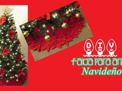 DIY FALDA PARA ARBOL DE NAVIDAD. SKIRT TREE