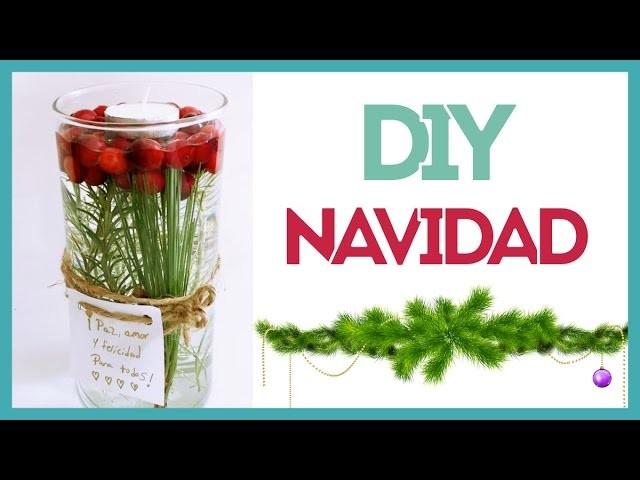 DIY Navidad Centro de Mesa