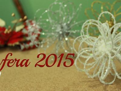 La mejor Esfera navideña | DIY | ¡Muy Fácil! Navidad 2015