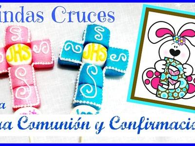 Lindas Cruces para Primera Comunión o Confirmación - Super fáciles de hacer