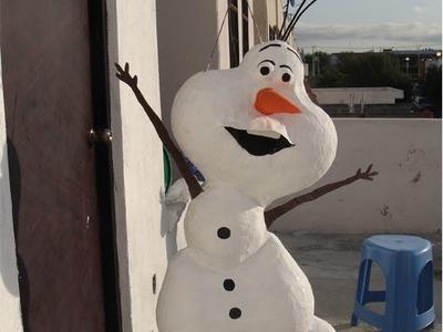 Piñata de Olaf, el muñeco de Frozen