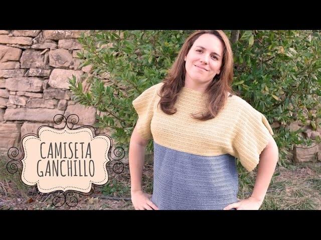 Tutorial Camiseta Fácil Ganchillo o Crochet