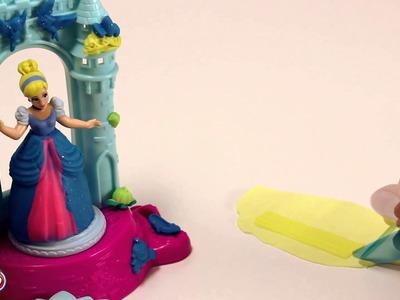 Vestidos de plastilina para Princesas Disney (Hellokids)