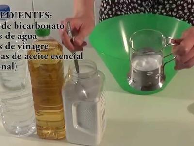 Vídeo tutorial. Receta de suavizante - antical casero para la ropa ideal para bebés y alérgicos