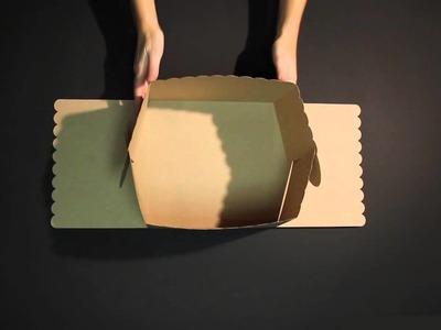 Caja para tartas y pasteles - Vídeo de montaje ref. 2230_M SelfPackaging