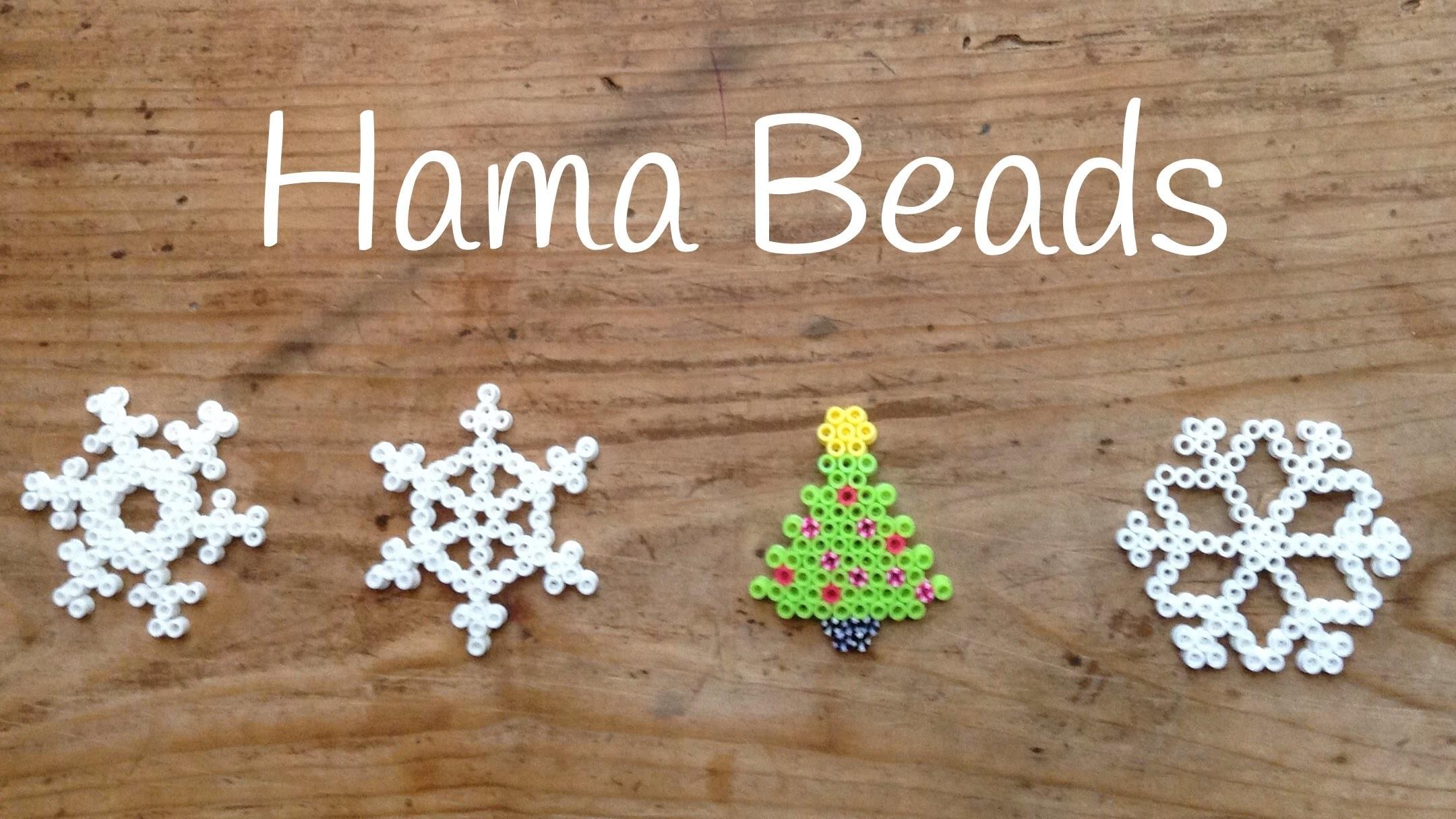 Christmas Hama Beads: Árbol de Navidad con Hama Beads - Christmas Tree