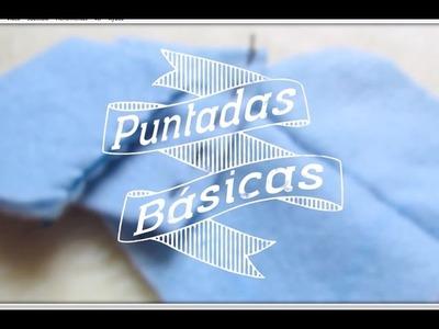 Como coser o costurar a mano - Puntos básicos
