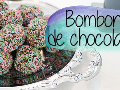CÓMO HACER BOMBONES DE CHOCOLATE SIN HORNO - Ceci Saia