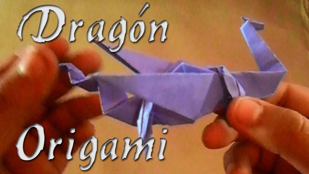 Cómo hacer un Dragón   Origami.
