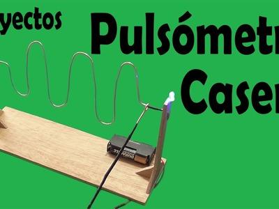 Cómo Hacer Un Pulsómetro Casero (muy fácil de hacer)