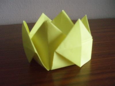 Como hacer una corona Origami3
