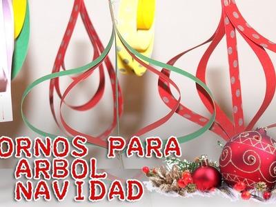 DIY - Adornos súper fáciles para el arbol de navidad - Christmas ornaments really easy