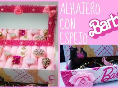 DIY Alhajero con espejo de Barbie por Fantasticazu