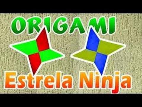 Estrella Ninja origami, como hacer origami estrella Ninja