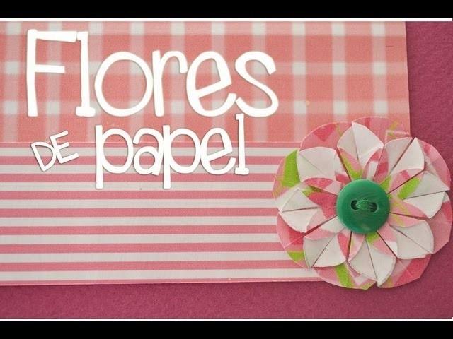 Flores de Papel (Súper fácil) | Yess