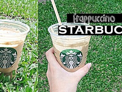 Prepara tu propio frappuccino de starbucks en casa!!