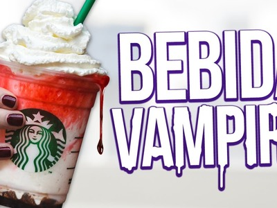 PREPARA UNA BEBIDA VAMPIRO! Starbucks Frappula Frapp