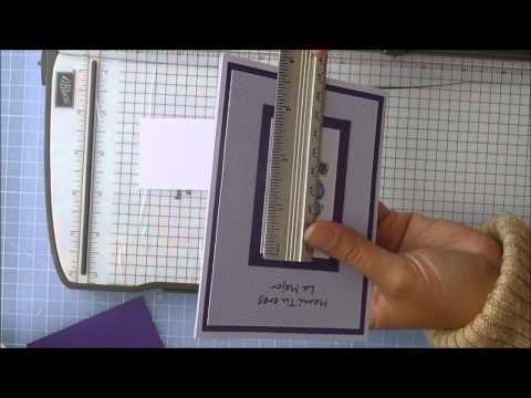 Scrapbooking en Español Episodio 17 Aprendiendo a elaborar tarjetas sencillas y bonitas