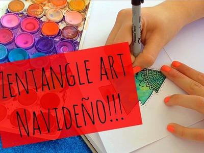 Zentangle art Navideño!