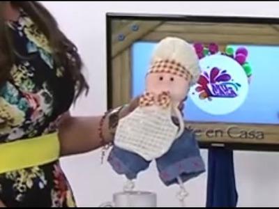 Como hacer un Muñeco-Chef de adorno para la Cocina- Hogar Tv  por Juan Gonzalo Angel