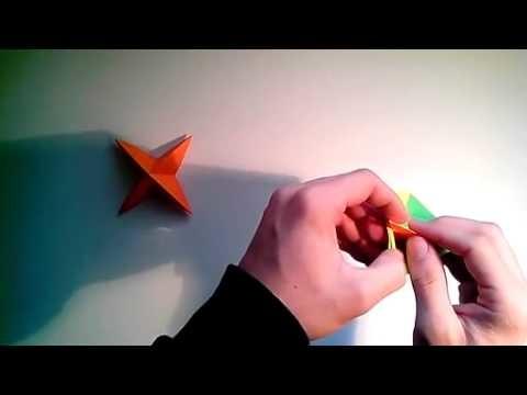 Como hacer una peonza modular de papel  [Origami - Papiroflexia]