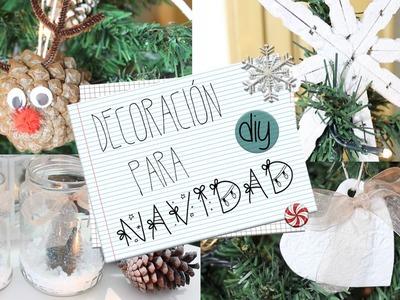 DECO PARA NAVIDAD ❄ DIY ❄ Angicupcakesblog