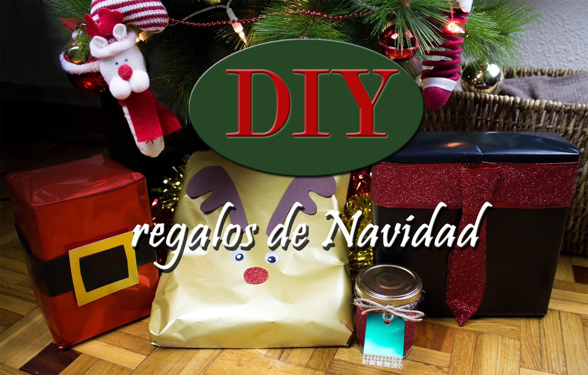 DIY ideas para envolver regalos. Fun and easy ways to wrap gifts
