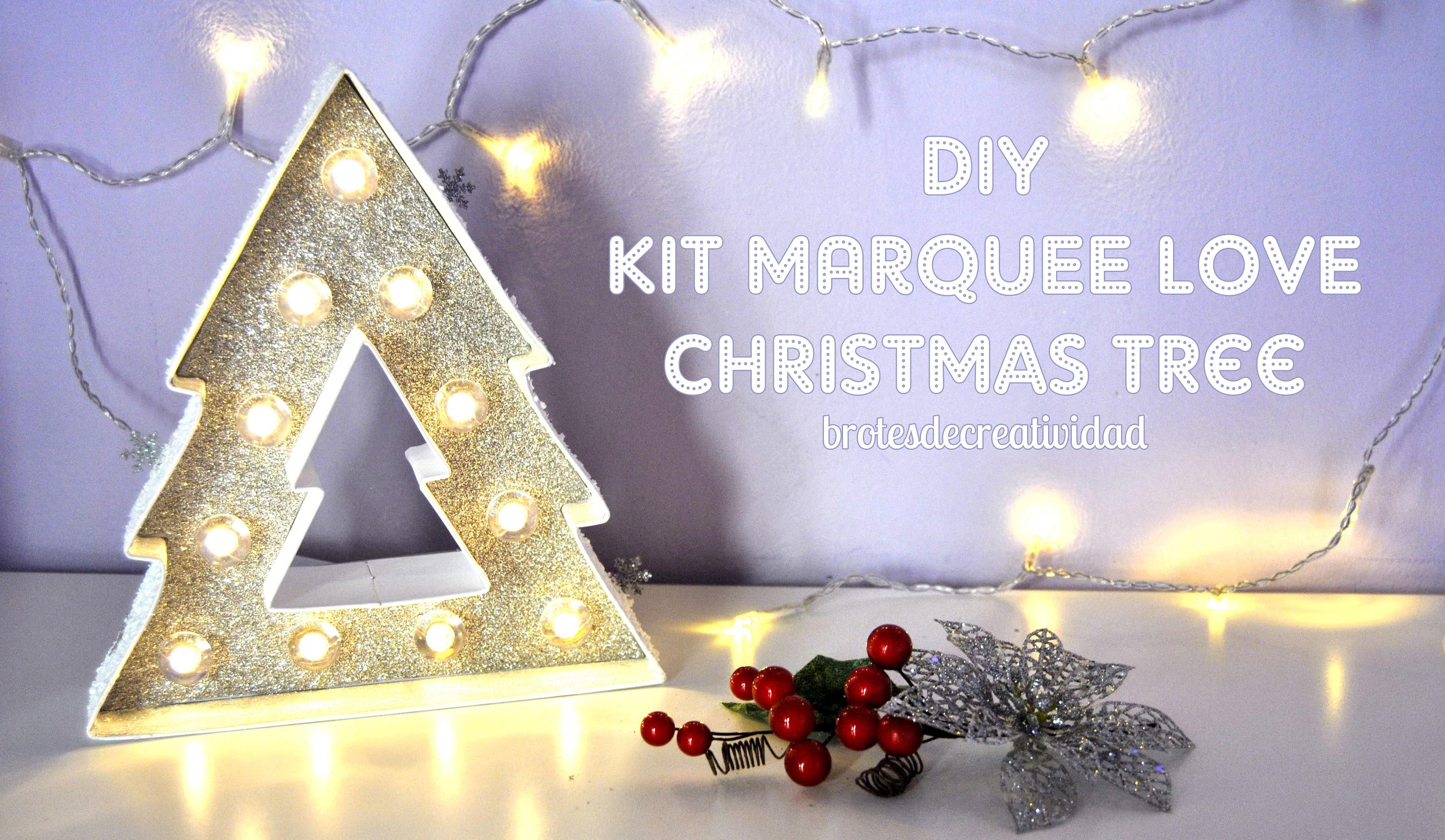 DIY : KIT Marquee Love Christmas Tree