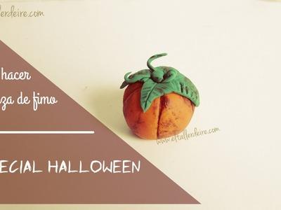 Especial Halloween: cómo hacer calabaza de fimo