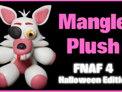 FNAF 4 HE | Mangle Plush Polymer Clay Tutorial | Porcelana Fría ★ Plastilina